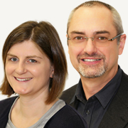 Dirk Frank und Evelyn Kiepfer, ISM Global Dynamics